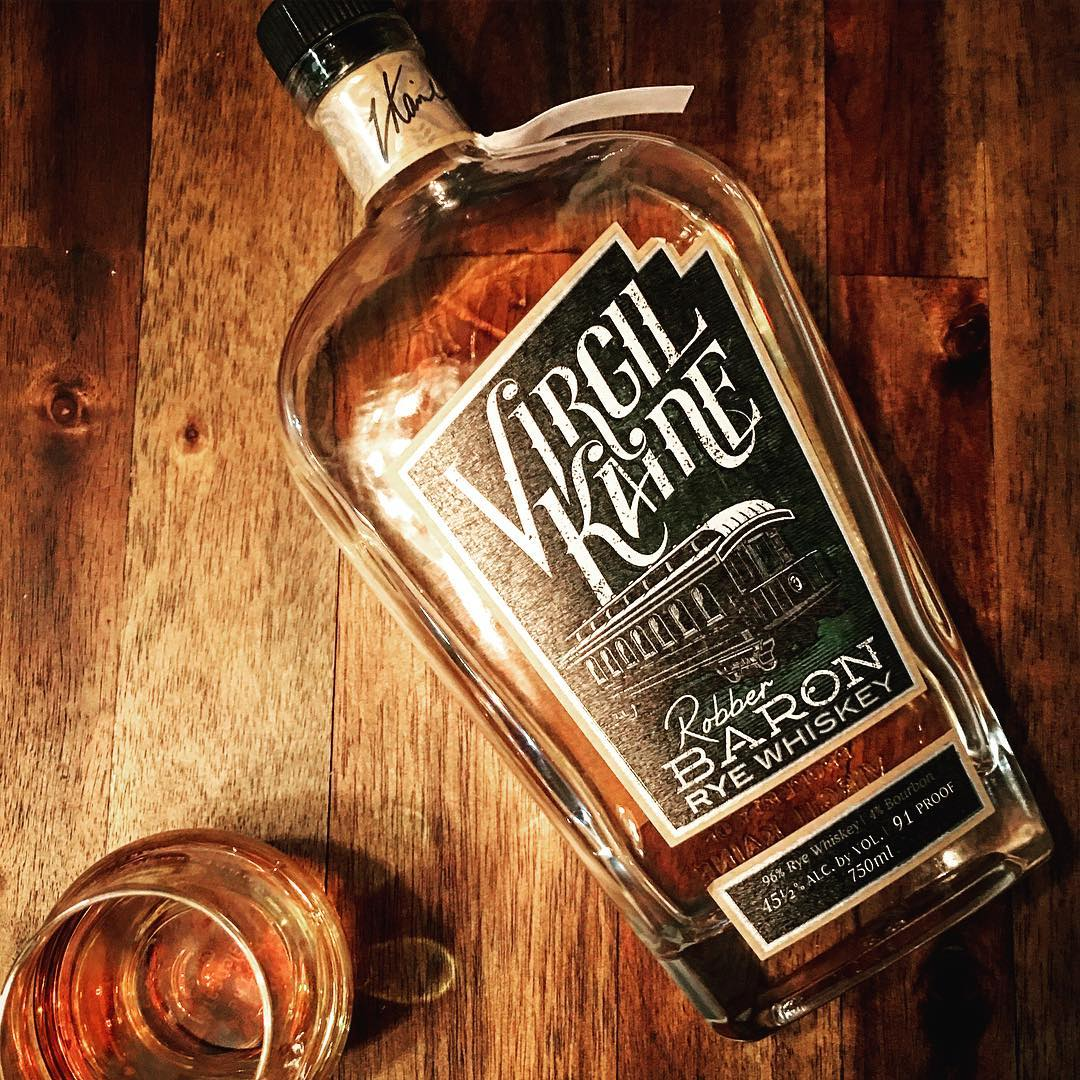 Tonight we had Virgil Kaine's Robber Baron Rye Whiskey. First off, beautiful label art. I love a good description on the bottle too. We start off with almost a campfire, toasted oak on the nose. Then delve into candy caramels and heat with the first sip. Hints of honey, vanilla, and oak are certainly present, but I still go back to the candy caramel (think Werther's Original). All of that wrapped up in a nice spicy rye-ness. Very cool team. Nice offering from some neighbors. We'll see you #inthegarage at #BowtieBarbecueCo. Maybe we can finagle a whiskey dinner @virgilkaine :) #virgilkaine #werthersoriginal #ryewhiskey #whiskey #robberbarronrye #charleston #charlestonsc #visitsavannah #bbq #visitcharleston #rye