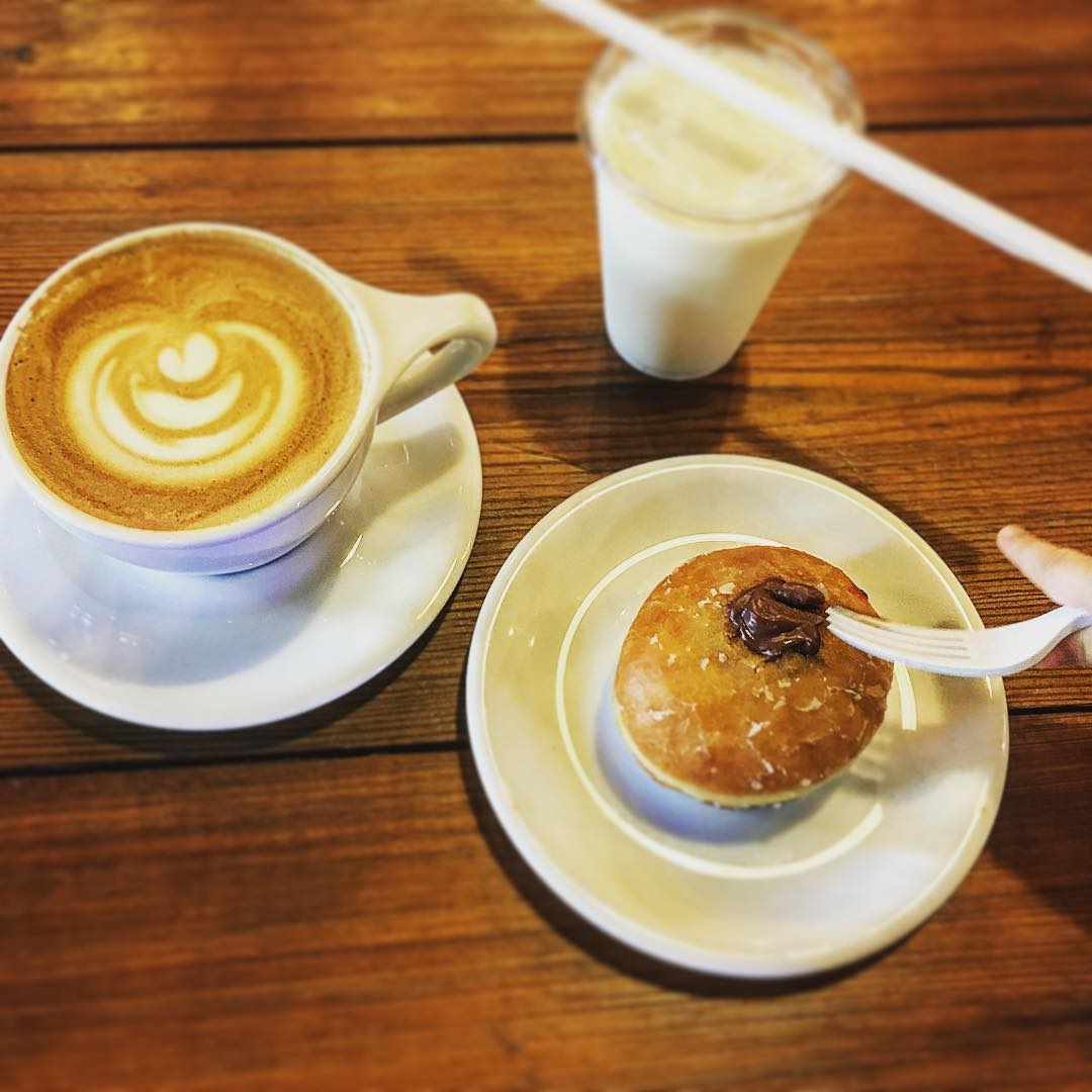 Had a nice little breakfast at @perccoffee this morning. As...