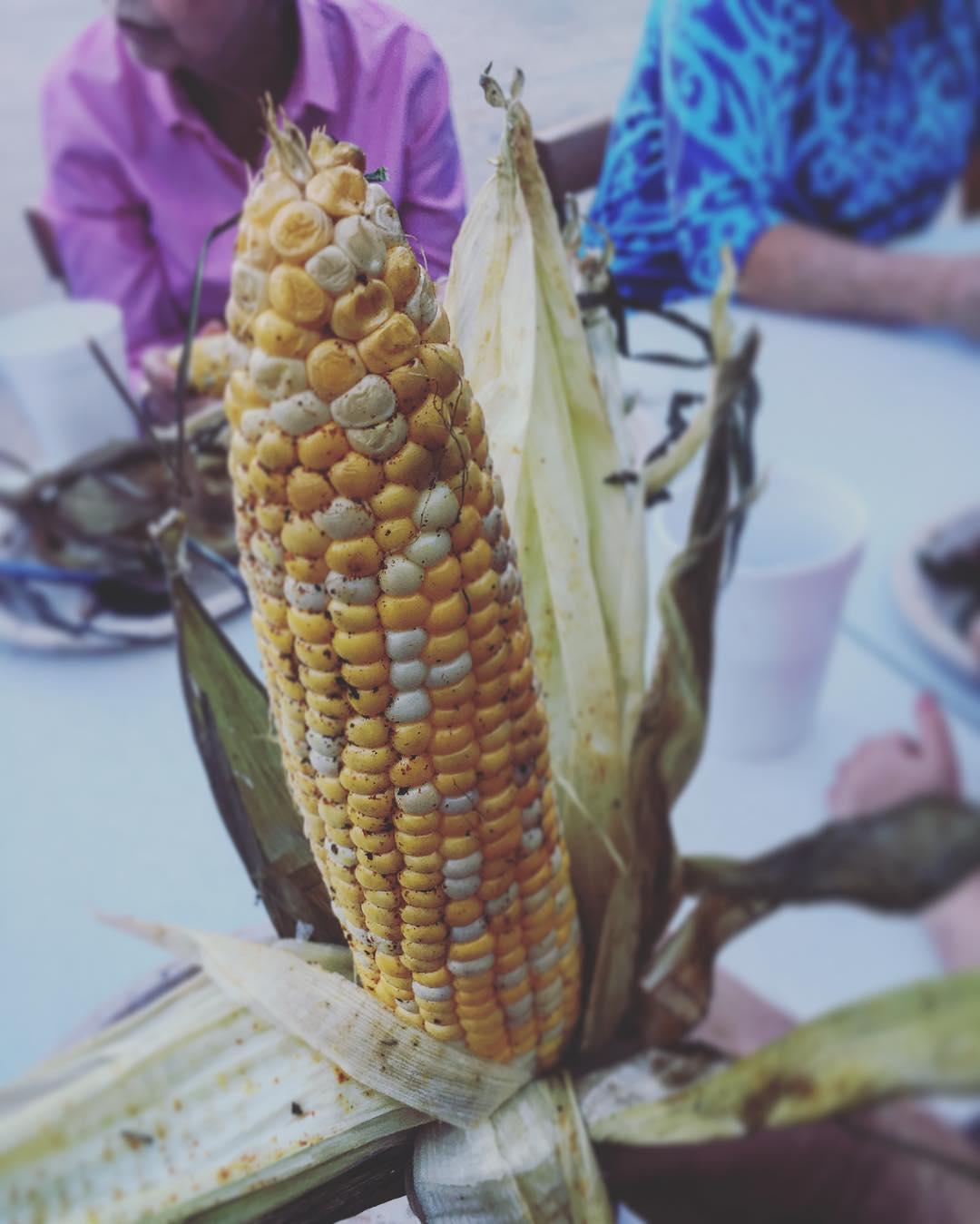 We smoked some corn. It rocked