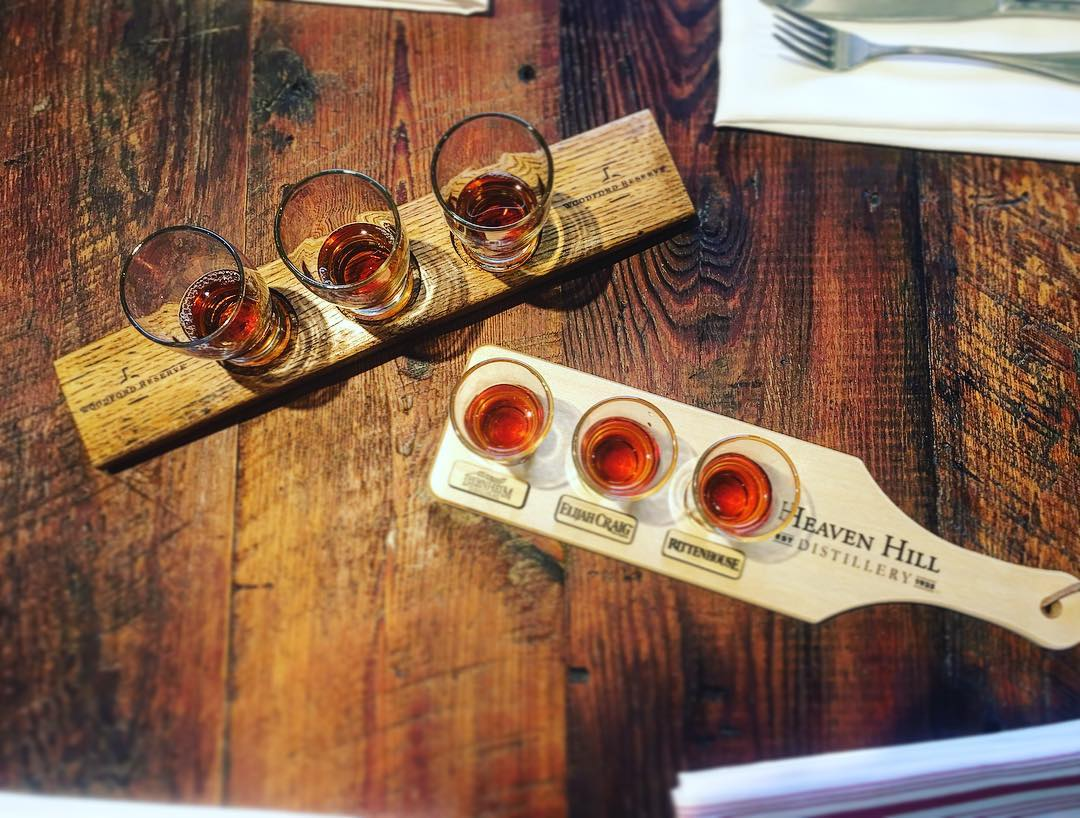Heya! We've got two whiskey flights running right now. One...