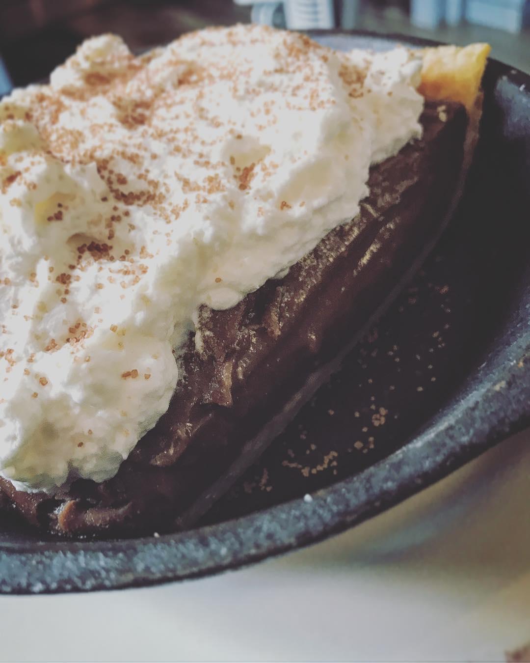Dude. Chocolate Cream Pie