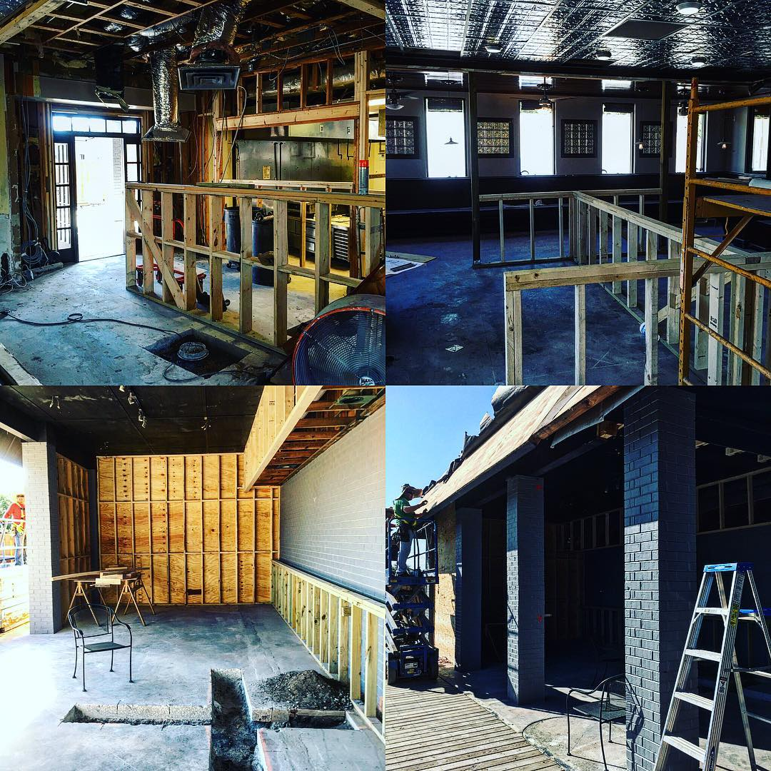 Moving right along! Got our building permit for construction so we're gonna be motoring. Look for some fantastic changes soon @visitsavannah