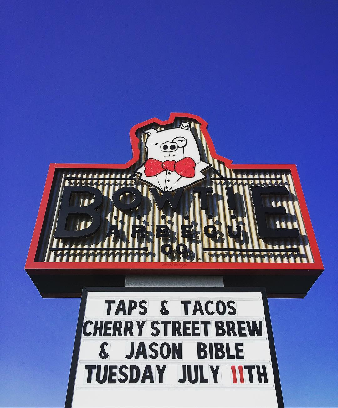 Tacos. Beer. Music. July 11th. 6:30. Be there…yeah! @jbible10 @modern_hops…
