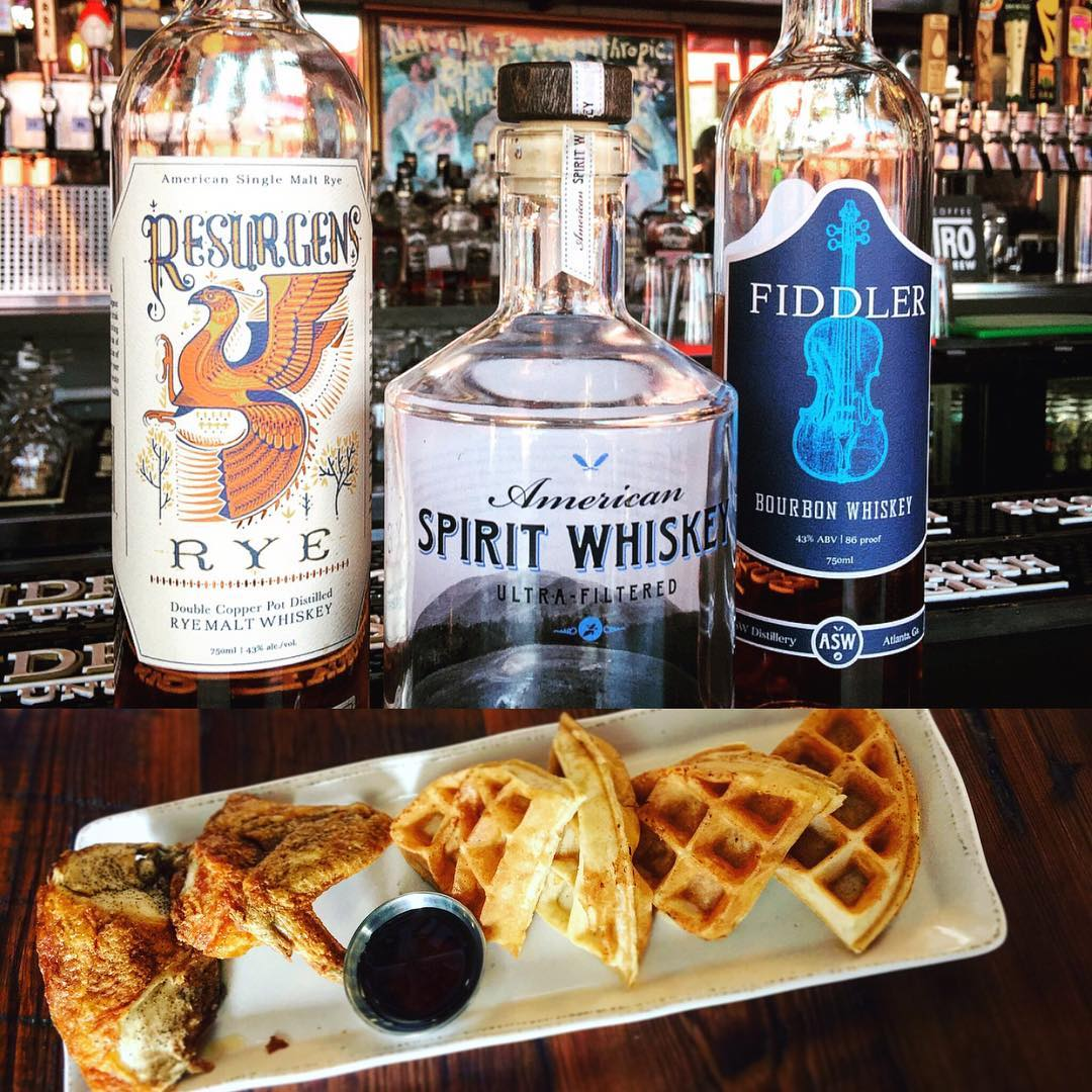 This Wednesday night (9/20)! Whiskey and Waffles with American Spirit…