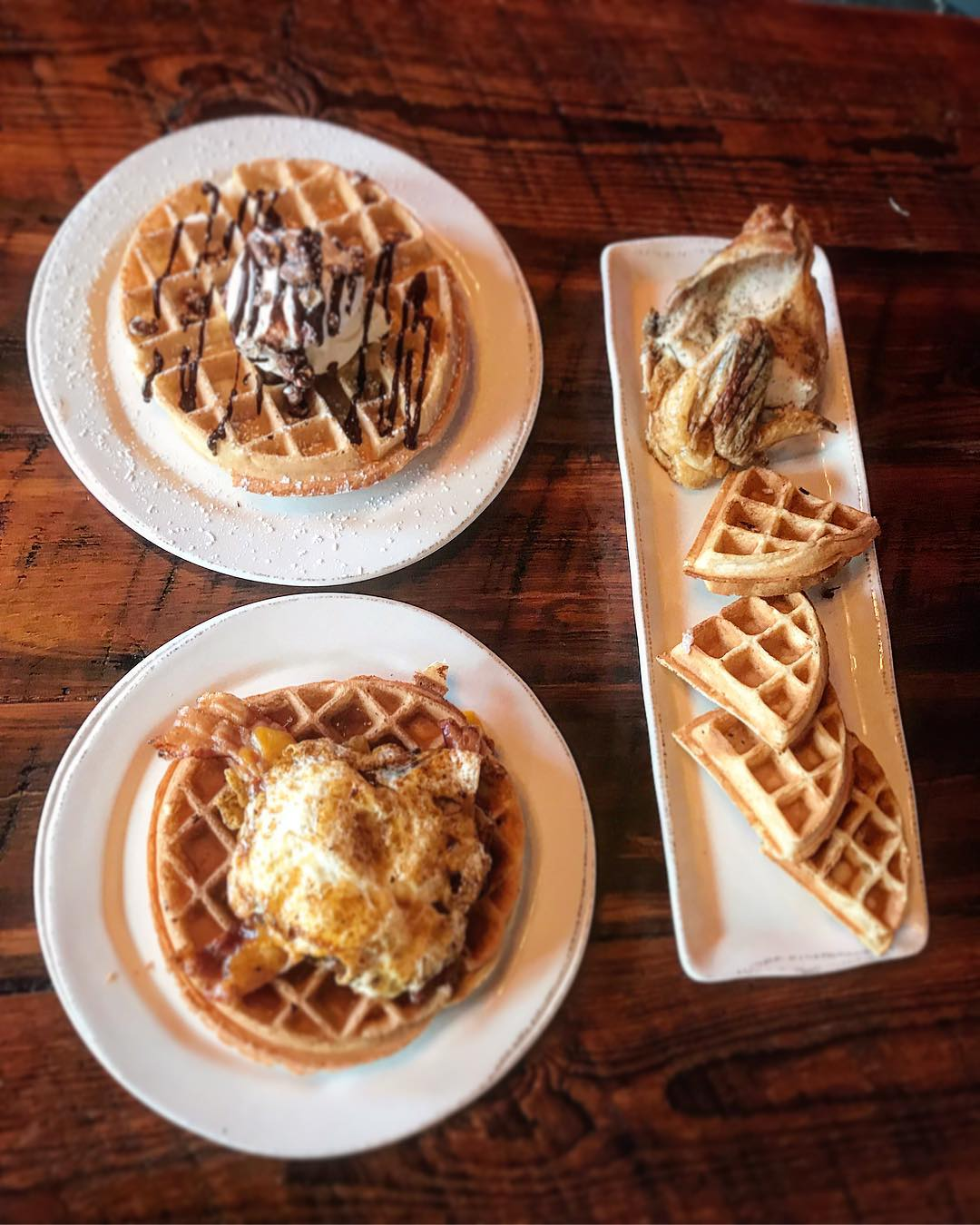 Our waffle selection for tomorrow night: Happiness is a Warm,…