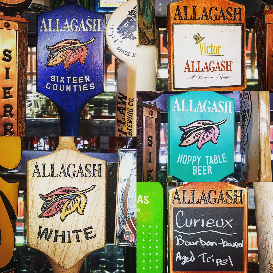 All-the-gash. Too much? Maybe. But hey, let's celebrate! Allagash Brewing…