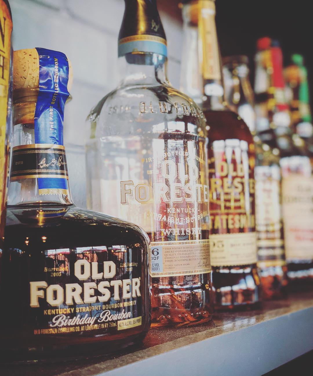We've got Old Foreter's 2017 Birthday Bourbon in the House!…